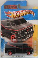 Hot Wheels Black A Team Van 2011 New Models 39/50, #039