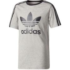 Camisas y camisetas de niño de 2 a 16 años gris adidas