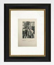 Henri Matisse 1937 original print hand signed with certificate. resale $3450