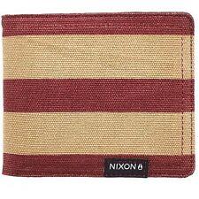 Nixon Tree Hugger Bifold Wallet (Oxblood) C20501363-00