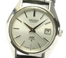 SEIKO King Seiko 5625-7111 Date antique Silver Dial Automatic Men's Watch_564578