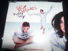 Sick Puppies Every Day Ultra Rare Australian CD Single