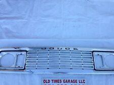 1977 1978 Dodge Pickup Truck Warlock Lil Red Express RamCharger Grille MOPAR