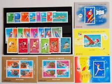 ROMANIA 1987-88 OLYMPICS, XF Cpl MNH** Collection, Swim Athletics Skiing Sport