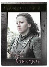 2017 Game Of Thrones Season 6 Gold Foil #63 Serial #42/150 Yara Greyjoy