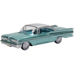 Oxford 87PB59003 Pontiac Bonneville Coupe 1959 Seaspray Green 1/87