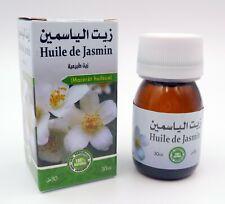 Huile de jasmin 100% Pure et Naturelle 30 ml, Pure Jasmine Oil