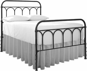 Ruffle Bed Skirt With Split Corner Light Grey All Size Made Brushed Microfiber