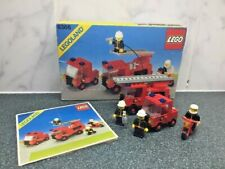 1984 Vintage Lego 6366 Fire & Rescue Squad Boxed With Instructions Fireman