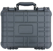 "14"" Hard Shell Case For Guns DSLR Camera W/ Pelican 1400 Style Pluck Foam NEW"