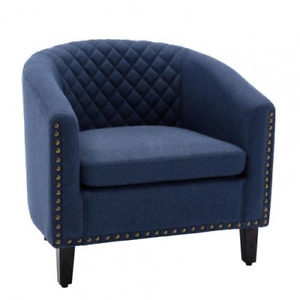 New Style Durable Strong Fabric Comfortable Padded Home Office Sofa Barrel Chair