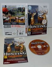 Cabela's Hunting Expeditions   Nintendo Wii     complete game only
