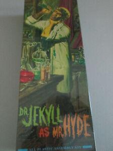 Moebius Dr Jekyll as Mr Hyde Aurora Reissue Model Kit (New/Sealed)
