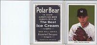 Rare Derek Jeter New York Polar Bear Reprint Card Mint (A-65)