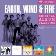 Original Album Classics - Earth Wind & Fire (2008, CD NUEVO)5 DISC SET