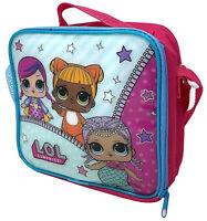 Lol Surprise Dolls Kids Lunch  Bag for School Food Travel Snacks