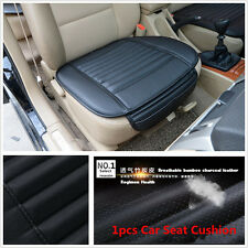Universal 1pcs Car Seat Cover Bamboo Charcoal Breathable Seat Cushion Pad Black