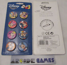 LOT 8 BADGES DISNEY MICKEY 28mm (neuf - vendeur pro)