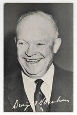 1956 DWIGHT EISENHOWER Ike POLITICAL President POLL CARD Palm RNC Republican