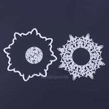 Snowflake Metal Cutting Dies Stencil DIY Scrapbooking Album Paper Card Crafts