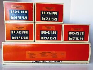 Lionel 6-11711 Vtg Santa Fe F3 ABA Warbonnet Passenger Set 1991 3 Engines 5 Cars