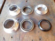 "Tange Aheadset 1 & 1/8"" cartridge bearings headset in silver"