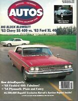 Special Interest Autos Magazine Hemmings Motor News October 1986