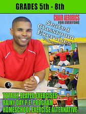 Chair Aerobics for Kids - Seated Classroom Exercises 5th - 8th Grade Fitness DVD