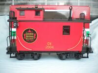 LGB 40650 Series Canadian National Caboose from Starter Set 72436 with an OB
