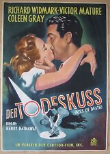 movie poster  Der Todeskuss / Kiss of Death  Victor Mature , Coleen Gray