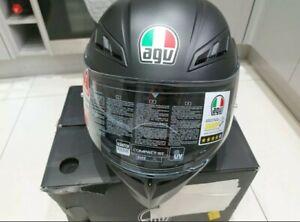 AGV Compact ST Matt Black Motorcycle Helmet size XL