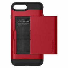 Spigen Slim Armor CS Wallet Case for iPhone 8 Plus - Red