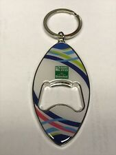 Heineken Rugby World Cup Chrome Keyring And Bottle Opener - Key Ring