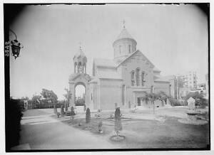 Armenian Church,Heliopolis,Egypt,Cairo,Africa,American Colony photo,c1935, 2978