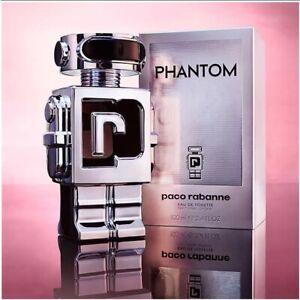 NEW SEALED BOX Paco Rabanne Phantom 1.7oz 50 Ml Men's Eau de Toilette