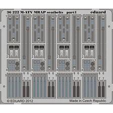 Eduard Photoetch 1:35 - M-ATV MRAP cinturones de seguridad (cinética) - (edp36222) - Edp36222