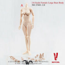 1/6 VERYCOOL FX01-A 2.0 PALE/LIGHT TAN Female Body Upgrade version Large Bust