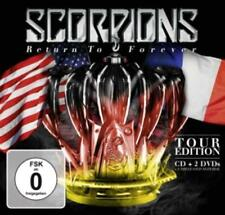 Return To Forever (Tour Edition) Scorpions - CD + 2DVDs / NEU + OVP