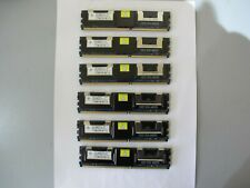 24 GB RAM  (6 x 4GB) PC2-5300F