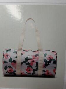 + Herschel Supply Co. Packable Duffle Bag -Blush Petals Pelican Pink HTF! Nice!