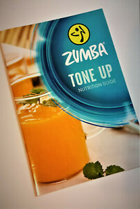 Zumba TONE UP ™ Nutrition Book 7day Meal +Guide for Healthy Food