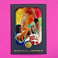 1995-96 Skybox E-XL Black MICHAEL JORDAN #10 HOF Chicago Bulls