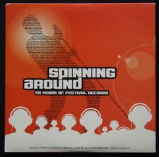 Spinning Around 50 Years of Festival Records 2003 Card Sleeve CD (C331G)