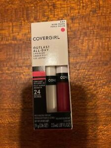 CoverGirl Outlast 547 Rose Pearl All Day Moisturizing Lip Color & Top Coat
