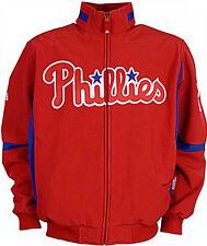 Philadelphia Phillies Discounted Majestic Therma Base Premier Jacket  Big & Tall