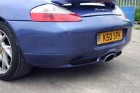 Porsche Boxster 986 Rear Diffuser/Valance - 1996-2005 - New