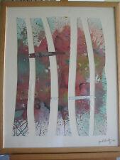 """1995 Jack Shultz Original Watercolor Artwork, Singed, 29"""" X 23""""(Image)"""