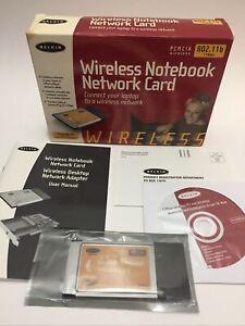 Belkin Wireless Notebook Network Card - 16 Bit PCMCIA 802.11b - Windows 95 to ME