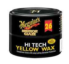 Meguiar's #26 Mirror Glaze Hi-Tech Yellow Brazilian #1 Carnauba Paste Wax 11oz