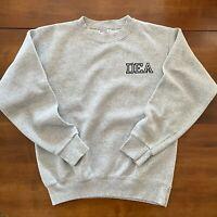 Vintage DEA Drug Enforcement Agency Sweatshirt Grey Made in USA Large / Medium